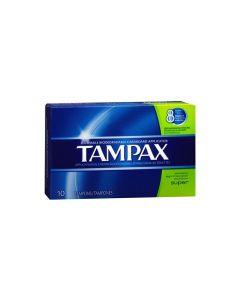 Tampax Super Unscented Tampons - 10 Count 丹碧丝纸导管卫生棉棒(适用较大流量-10支)