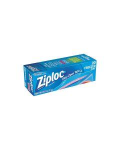 Ziploc Pint Freezer Bags - 20 Bags - 7 IN x 5 IN (17.7 cm x 12.7 cm)