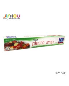 Best Yet Clear Plastic Wrap 100 SQ FT 9.29m² 百益牌保鲜膜