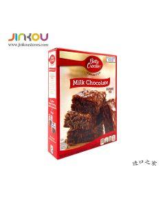 Betty Crocker Milk Chocolate Brownie Mix 2.4 OZ (522g) 贝蒂牛奶巧克力布朗尼蛋糕制作用粉