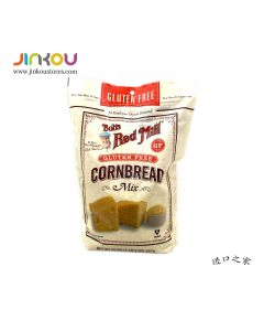 Bob's Red Mill Gluten Free Cornbread Mix 20 OZ (567g) 鮑勃紅磨坊玉米蛋糕烘培粉