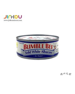 Bumble Bee Solid White Albacore Tuna in Water 5 OZ (142g) 蜜蜂牌水浸长鳍金枪鱼罐头