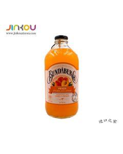 Bundaberg Peach Sparkling Drink (375mL) 宾得宝含气蜜桃汁
