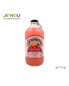 Bundaberg Pink Grapefruit Sparkling Drink (375mL) 宾得宝含气粉红葡萄柚汁
