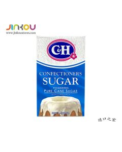 C&H Confectioners Powdered Pure Cane sugar 16 OZ (453g) C&H糖粉(预拌粉)
