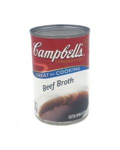 Campbell's Condensed Beef Broth Soup 10.5 OZ (298g) 金宝牛肉汤