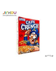 Cap'n Crunch Sweetened Corn & Oat Cereal 8 OZ (226g) QUAKER燕麦玉米方脆(冲调谷物制品)