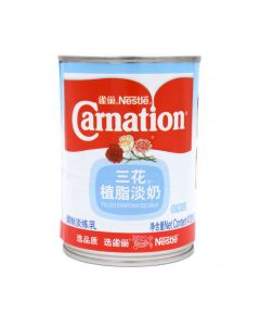 Nestle Carnation Filled Evaporated Milk (410g) 雀巢三花植脂淡奶 (调制淡炼乳)