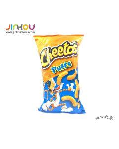 Cheetos Puffs Cheese Flavored Snacks 9 OZ (255.1g) 奇多奶酪味玉米條(膨化食品)