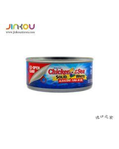 Chicken of the Sea Solid White Albacore Tuna in Oil Net Wt. 5 OZ (142g) 美人鱼牌油浸长鳍金枪鱼罐头