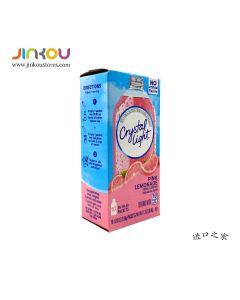 Crystal Light Pink Lemonade 1.3 OZ (36.8g) Crystal Light 柠檬味果味粉