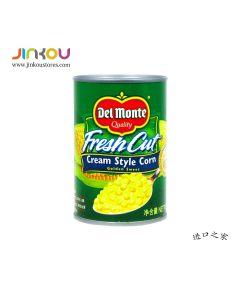 Del Monte Fresh Cut Cream Style Corn (425g) 地扪玉米酱