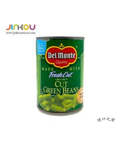 Del Monte Fresh Cut Green Beans 14.5 OZ (411g) 第门四季豆罐头