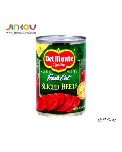 Del Monte Fresh Cut Sliced Beets 14.5 OZ  (411g) 第门切片甜菜根罐头