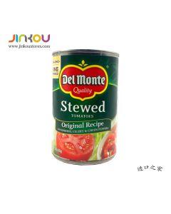 Del Monte Stewed Tomatoes Original Recipe 14.5 OZ (411g) 第门洋葱芹菜青椒味炖番茄