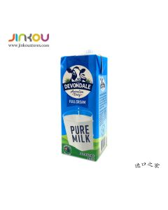 Devondale Imported Australian Full Cream Pure Milk (1L) 德运全脂纯牛奶