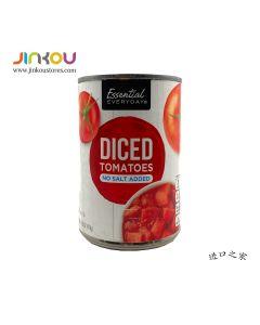 Essential Everyday Diced Tomatoes No Salt Added 14.5 OZ (411g)  Essential Everyday 每日之选咸味碎番茄