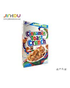 General Mills Cinnamon Toast Crunch Cereal 16.8 OZ (476g) 将军牌肉佳味烘烤脆麦片