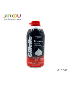 Gillette Shave Foamy Regular 11 OZ (311g) 吉列牌剃须泡沫