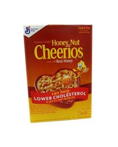 General Mills Honey Nut Cheerios Cereal 10.8 OZ (306g) 将军牌全谷物蜂蜜坚果味麦片