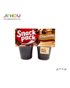 Snack Pack Chocolate Pudding 4 pack (368g) Snack Pack 巧克力味布丁