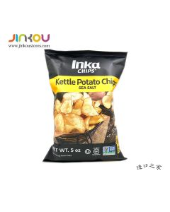 Inka Chips Kettle Chips - Sea Salted Potato Chips 5 OZ (142g) 因嘉海盐味薯片