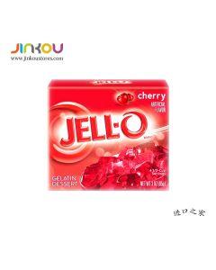 Jell-O Gelatin Dessert Cherry 3 OZ (85g) 杰乐樱桃味果冻粉