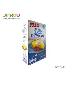 Jell-o No Bake Classic Cheesecake 11.1 OZ (314g) 杰乐纯正奶酪味甜点制作用粉