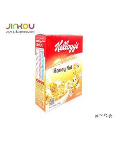 Kellogg's Honey Nut O's Cereal (250g) 家乐氏蜜果脆圈圈