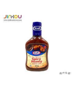 Kraft Spicy Honey Barbecue Sauce 18 OZ (510g) 卡夫香辛蜂蜜味烧烤调味酱