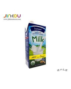 Lacheer Debet Series High Calcium Skim Milk (1L) 兰雀臻德系列高钙脱脂纯牛奶