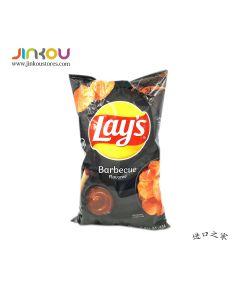 Lay's Barbecue Chips 6.5 OZ (184.2g) 乐事烤肉味薯片(膨化食品)