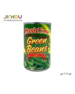 Magic Time Green Beans (411g) 魔法时光绿豆罐头