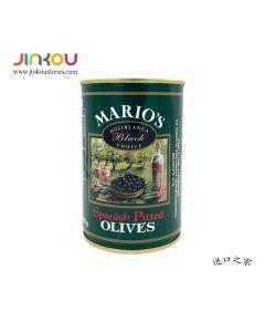 Mario's Spanish Pitted Black Olives (410g) 玛利欧无核黑橄榄