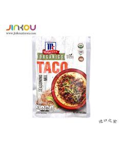 McCormick Organics Taco Seasoning Mix 1 OZ (28g) 味好美Organic玉米壳饼调味粉