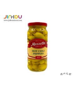 Mezzetta Hot Chili Peppers 16OZ (473ml) 美瑞塔整辣椒