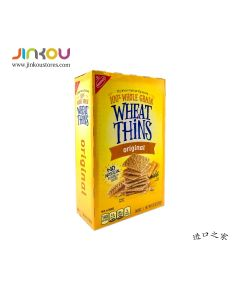 Nabisco 100% Whole Grain Original Wheat Thins 9.1OZ (257g) 纳贝斯克原味小麦饼干