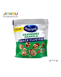 Ocean Spray Cranberry Granola Snack Clusters 5 OZ (142g) 优鲜沛燕麦口味蔓越莓果脆(水果制品)
