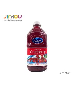 Ocean Spray Cranberry Juice Cocktail Original 64 OZ (1.89L) 优鲜沛经典蔓越莓果汁饮料