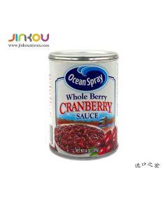 Ocean Spray Whole Berry Cranberry Sauce 14 OZ (397g) 优鲜蔓越莓果酱