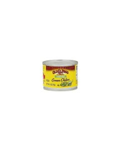 Old El Paso Chopped Green Chiles - Mild 4.5 OZ (127g)