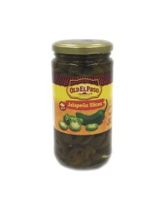 Old El Paso Hot Jalapeno Slices Pickled 12 OZ (340g) 欧帕墨西哥辣椒圈