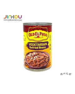 Old El Paso Refried Beans Vegetarian 16 OZ (453g) 歐帕豆醬(純蔬菜口味)