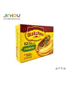 Old El Paso Crunchy Taco Shells 4.6 OZ (130g) 欧帕脆玉米壳饼(内含12片)