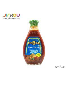Ortega Taco Sauce Original Thick & Smooth Mild 16 OZ (453g) 欧特佳博饼微辣调味酱
