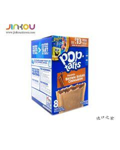Pop-Tarts Frosted Brown Sugar & Cinnamon 13.5 OZ (384g) 家乐氏糖霜粽糖肉桂味馅饼
