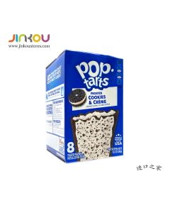 Pop-Tarts Frosted Cookies & Creme 13.5 OZ (384g) Pop-Tarts糖霜曲奇奶油果糖饼