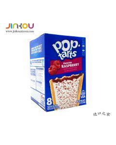 Pop-tarts Frosted Raspberry 13.5 OZ (384g)  Pop-tarts 糖霜树莓味果塔饼