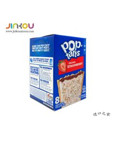 Pop-Tarts Frosted Strawberry 13.5 OZ (384g) 家乐氏草莓果塔饼 (糕点)