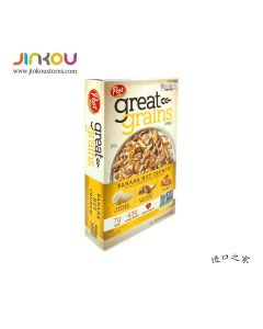 Post Great Grains Banana Nut Crunch Cereal 15.5 OZ (439g) 宝氏香蕉坚果脆麦片